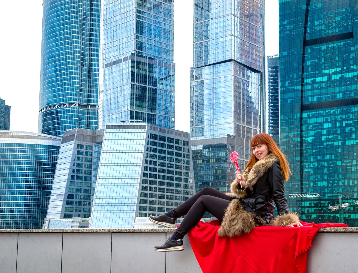 Фотосессия Москва-сити VIP
