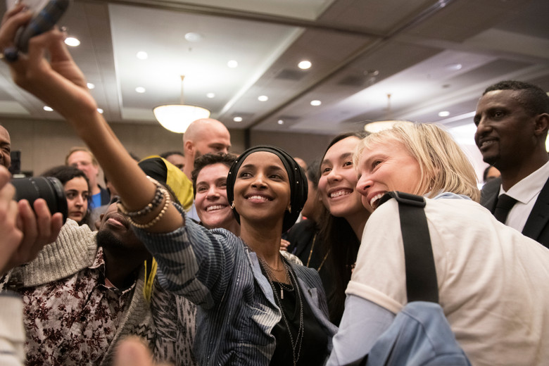Ilhan Omar's Election Party