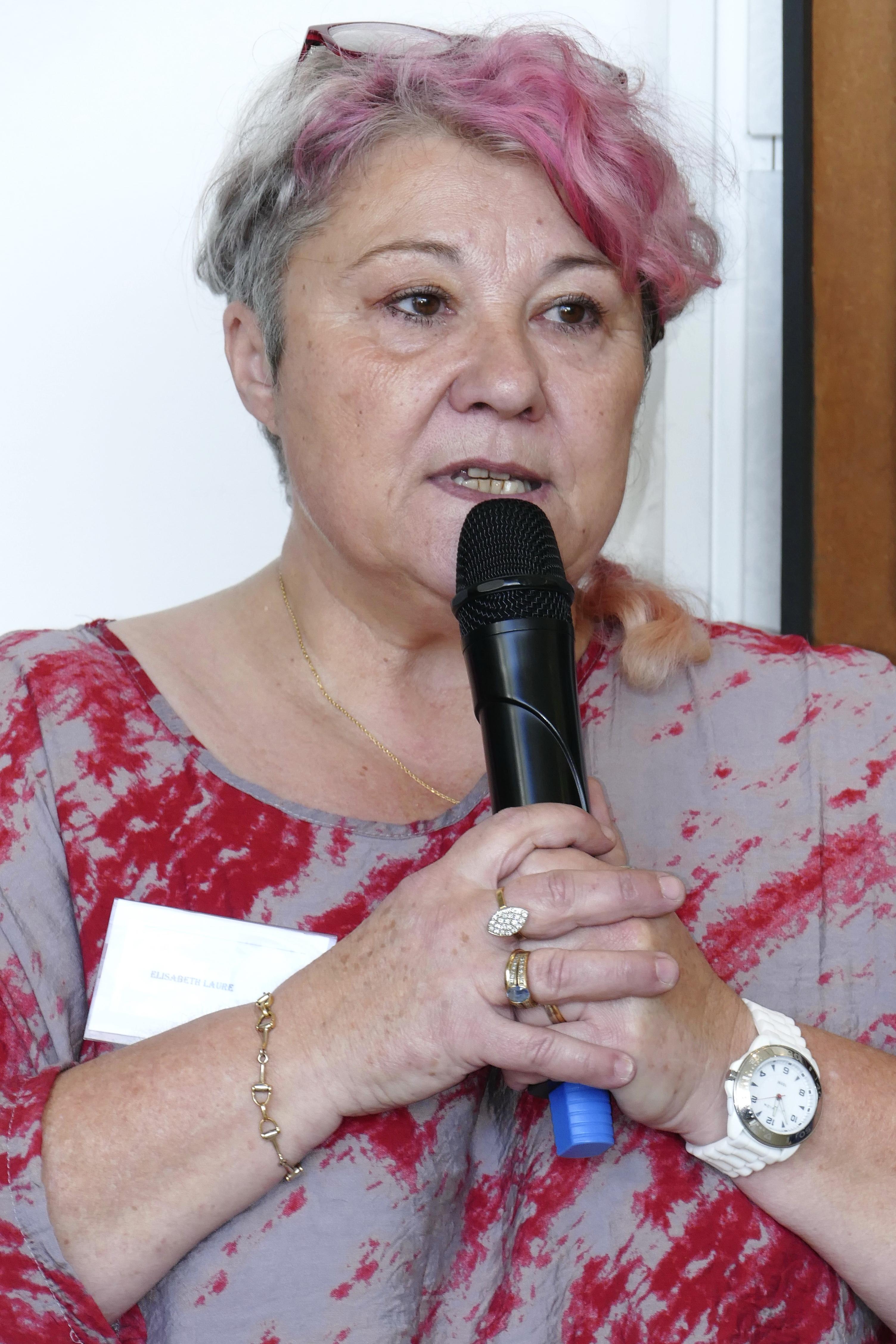 Discours Elisabeth Laure Présidente