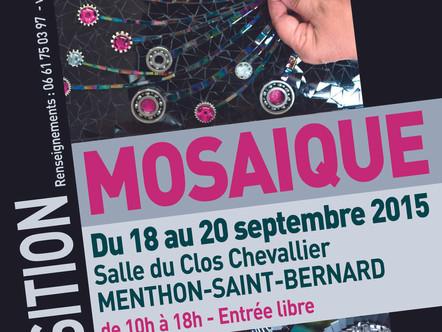 EXPOSITION à Menthon St Bernard du 18 au 20 septembre 2015