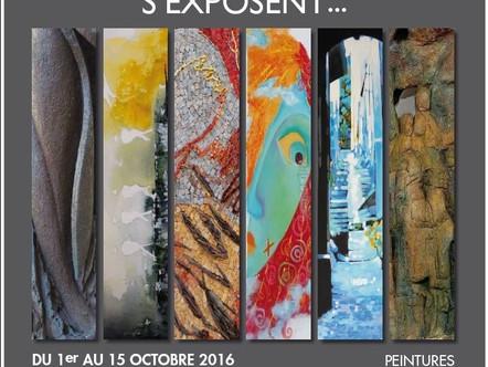 Guislaine Carrier (Muséa) expose à Lyon avec les Sansoucistes !