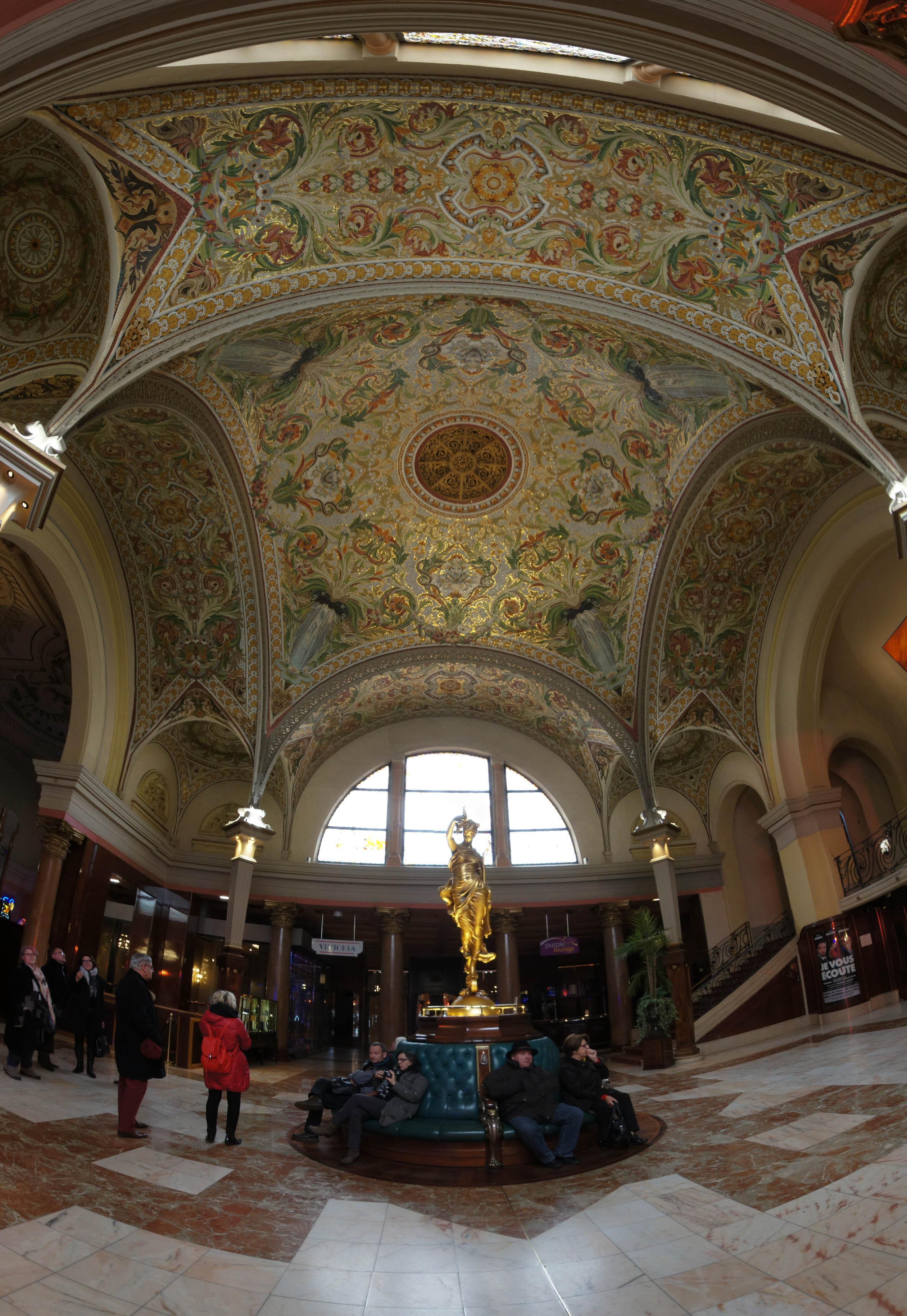 Visite d'Aix les Bains, le casino