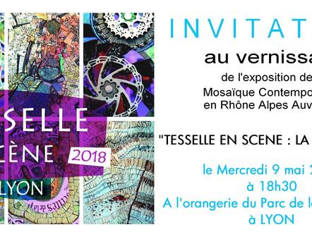 1ère Biennale à Lyon : Le vernissage