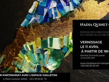 Nadia Quinet Lemoine expose à Lyon