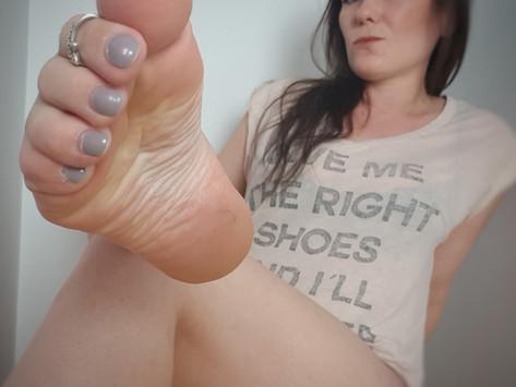 Visite aux pieds