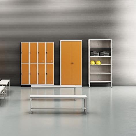 Mobiliário em Aço
