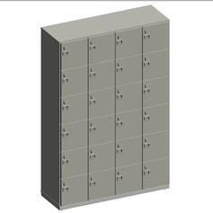 Mobiliário Call Center - Locker