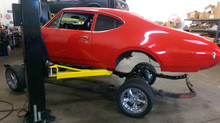 69 Oldsmobile Cutlass Frame-off