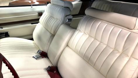 Seats restored
