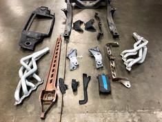 Parts for powdercoat