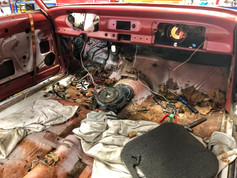 Interior breakdown