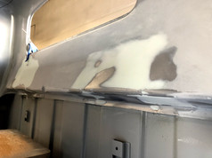 speaker holes filled
