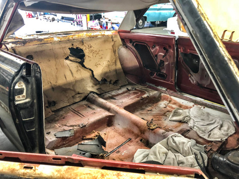 Interior Teardown