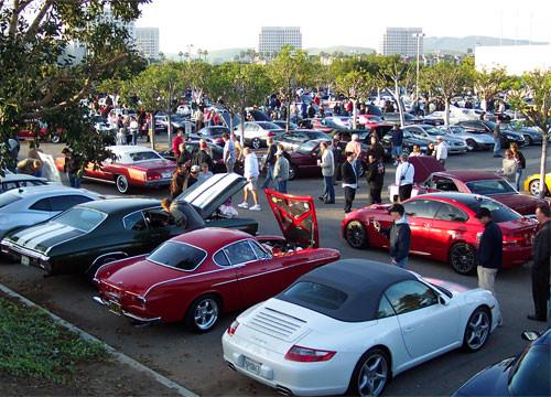 Cars and Coffee Irvine
