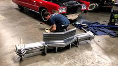 Bumper strip restoration