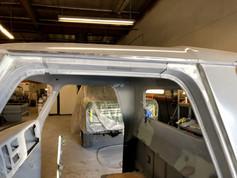 cab repair, fill gutter gaps