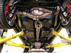 Custom rear end and torque tube