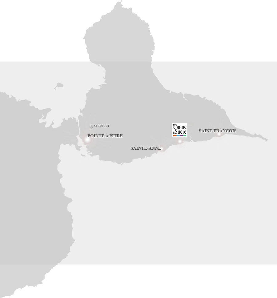 Guadeloupe map