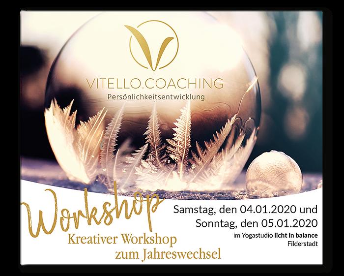 kreativer Workshop zum Jahreswechsel 2020 |Vitello.Coaching, Persönlichkeitsentwicklung, Filderstadt