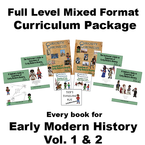 Full Level Mixed Format Curriculum Package: Early Modern History Vol. 1 & 2