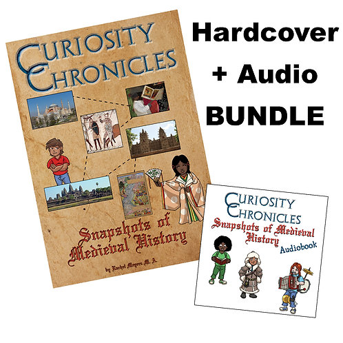 Bundle: Hardcover + Audiobook Snapshots of Medieval History