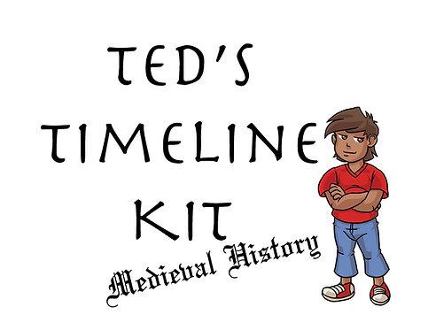 Ted's Timeline Kit: Medieval History