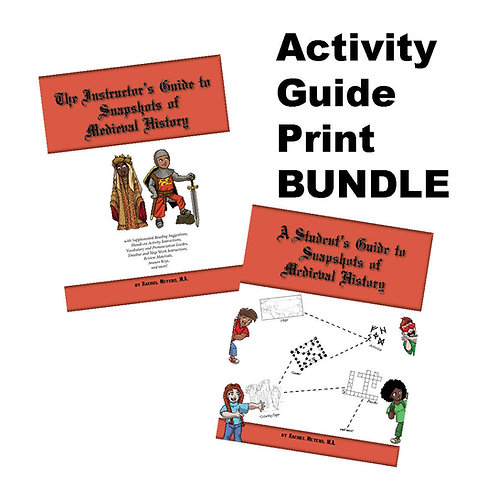 Bundle: Softcover Student and Instructor Medieval History Activity Guide
