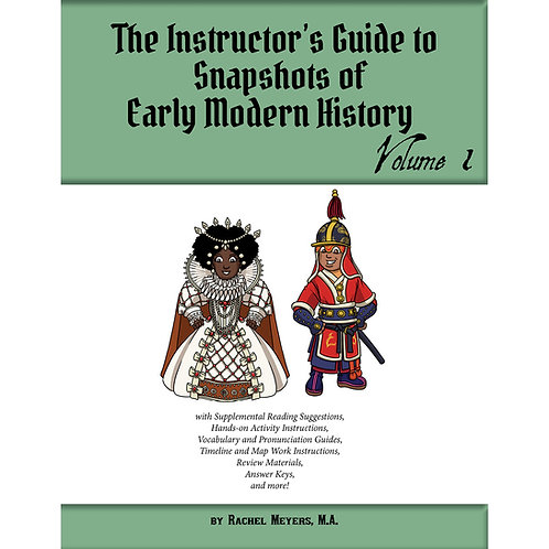 PDF Instructor's Activity Guide Early Modern History Vol. 1