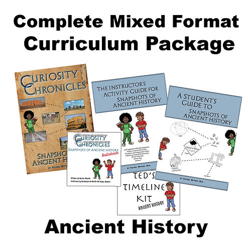 Complete Mixed Format Curriculum Package: Ancient History