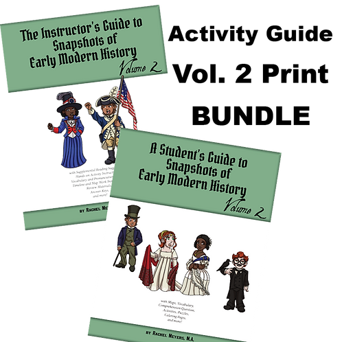 Activity Guide Print Bundle: Early Modern History Vol. 2