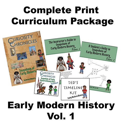 Complete Print Bundle: Early Modern History Vol. 1