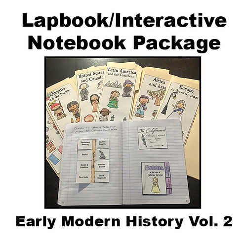Early Modern History Vol. 2 Lapbook/Interactive Notebook Package
