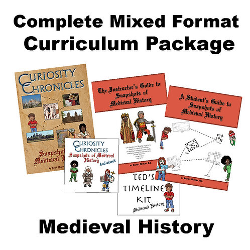 Mixed Format Curriculum Package: Medieval History