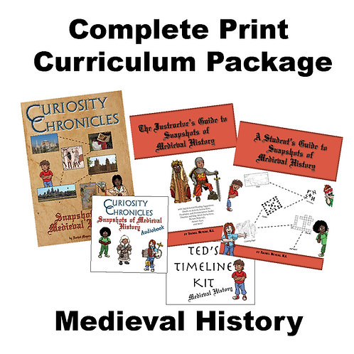 Complete Print Curriculum Package: Medieval History