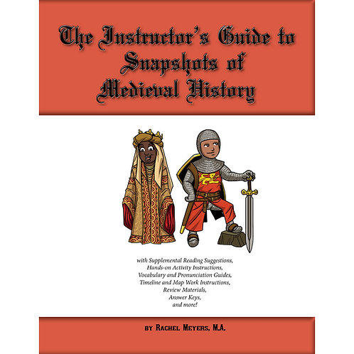 Softcover Instructor's Medieval History Activity Guide