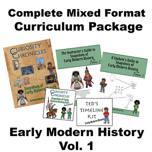 Mixed Format Curriculum Package: Early Modern History Vol. 1