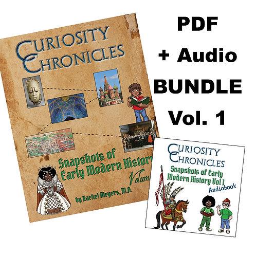 Bundle: PDF + Audiobook Snapshots of Early Modern History Vol. 1
