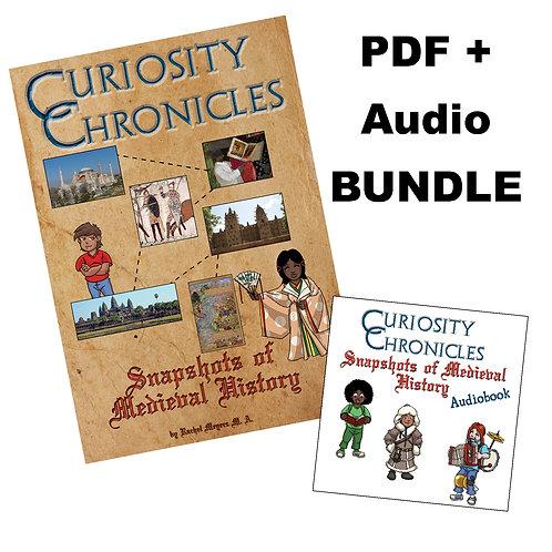 Bundle: PDF + Audiobook of Snapshots of Medieval History
