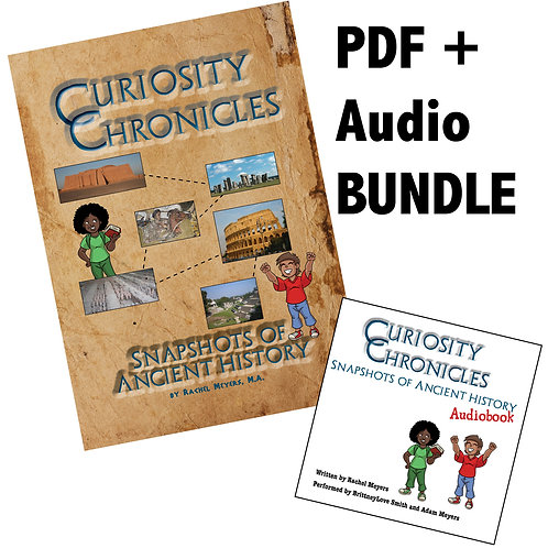 Bundle: Snapshots of Ancient History PDF and Audiobook