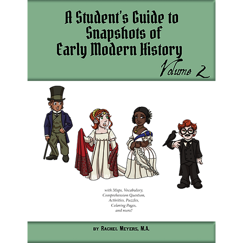 Softcover Student's Guide to Snapshots of Early Modern History Vol. 2