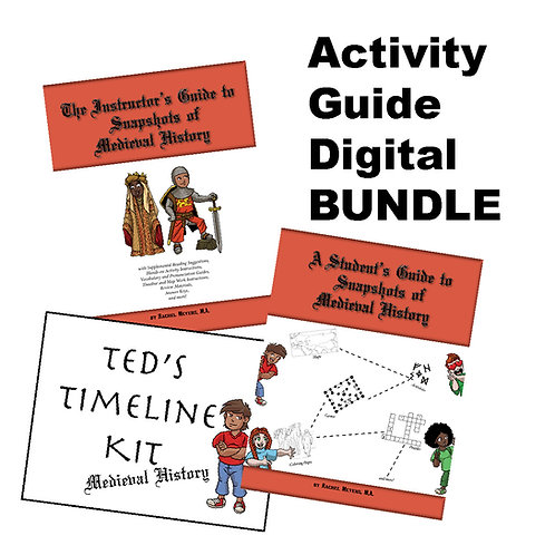Bundle: Medieval History Activity Guide PDF