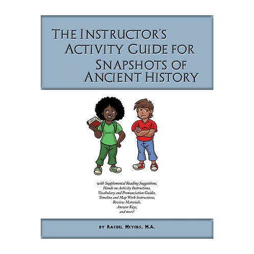 Softcover Instructor's Guide to Snapshot Ancient History