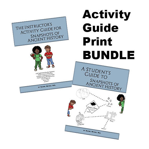 Bundle: Softcover Student and Instructor's Activity Guide Ancient History