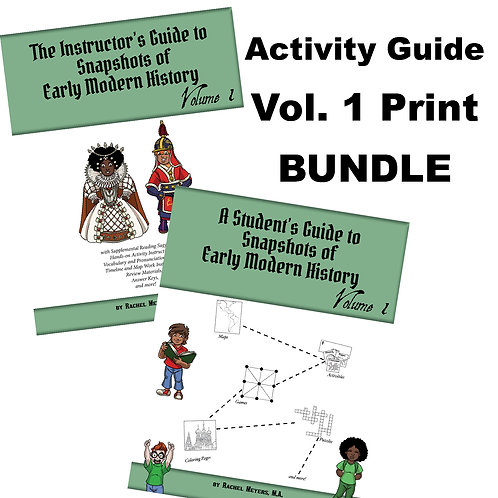 Bundle: Softcover Student and Instructor Early Modern History V. 1Activity Guide