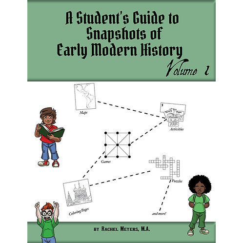 Softcover Student's Activity Guide Snapshots of Early Modern History Vol. 1