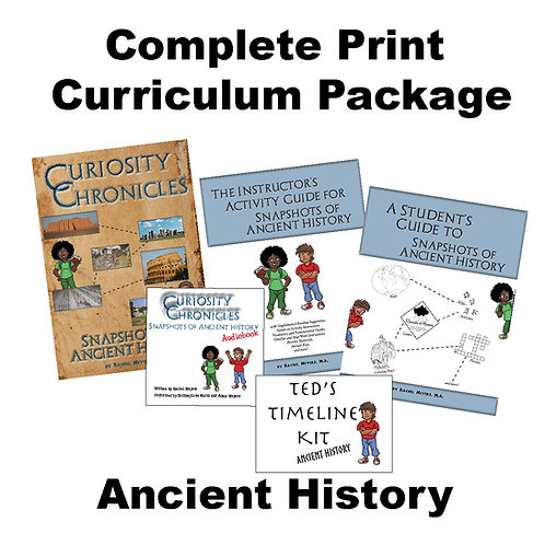 Print Curriculum Package: Ancient History