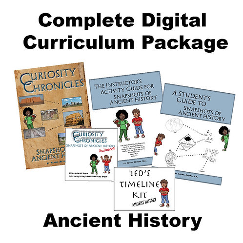 Complete Digital Curriculum Package: Ancient History