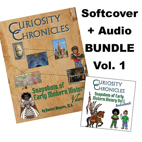 Bundle: Softcover + Audiobook Snapshots of Early Modern History Vol. 1