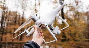 Drone blanco