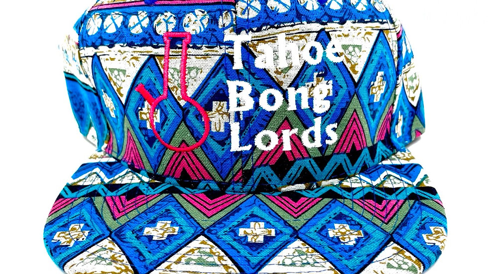 TLB Bonglords Blue Tribal Hat